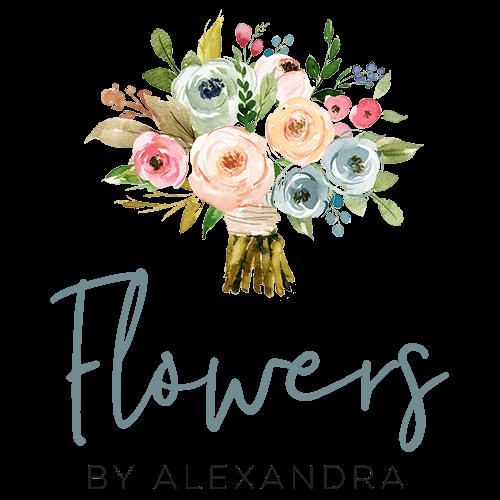 Flowers by ALex Logo