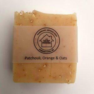 Patchouli,Orange & Oats Soap